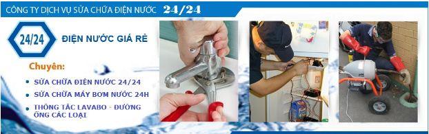 Sửa điện nước tại quận tân bình