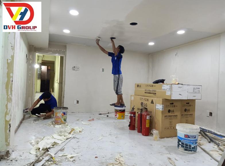 Thi công cải tạo lại căn hộ chung cư cũ