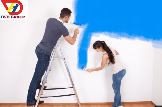 Thợ sơn nhà tại quận 6