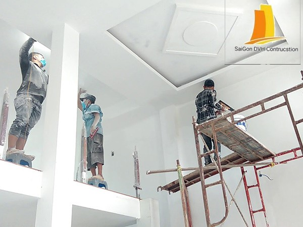 Dịch vụ sơn nhà tại quận 5 chuyên nghiệp
