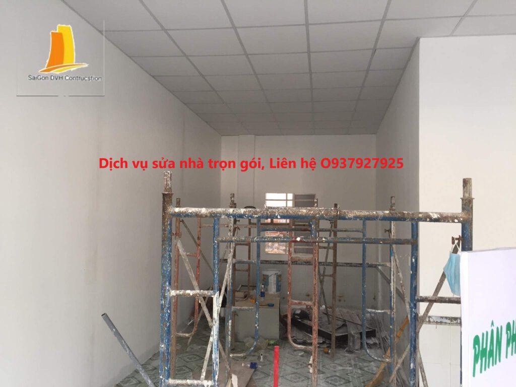 Dịch vụ sơn nhà tại quận thủ đức, TPHCM Liên hệ O937927925