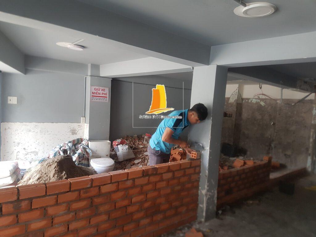 Dịch vụ sửa nhà chuyên nghiệp lâu năm nhiều kinh nghiệm
