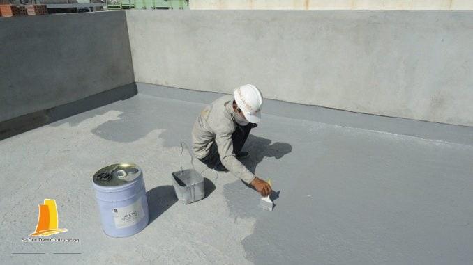 Xử lí chống thấm nhà hiệu quả chuyên nghiệp bằng sơn Kova