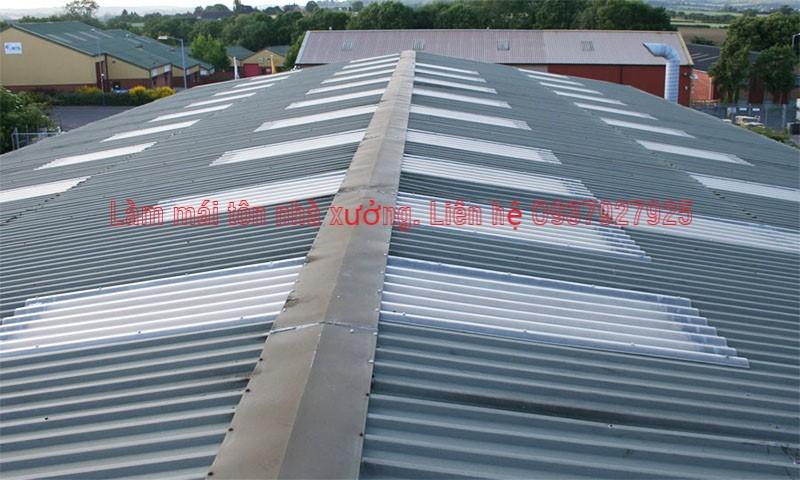 Công ty làm mái tôn nhà xưởn tại TPHCM, Khu vực Miền nam