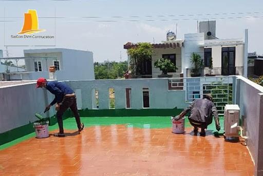 Thợ chống thấm sân thượng tại tphcm