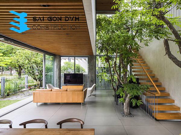 Công ty sửa chữa nhà quận 7 sẽ giúp bạn thiết kế nội thất nhà cũ gần gũi với thiên nhiên
