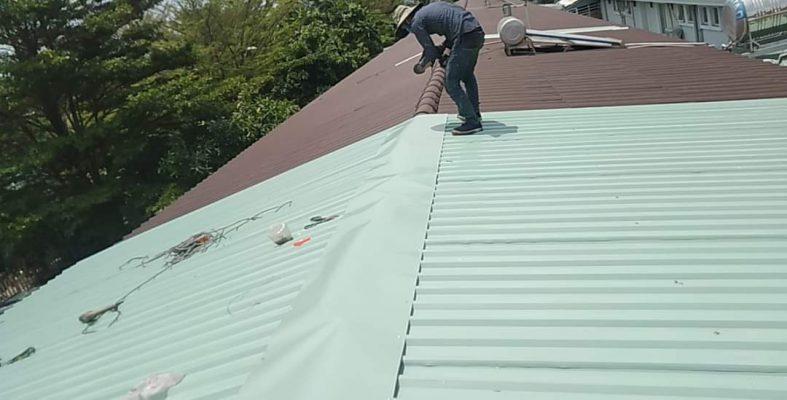 Thay mái tôn nhà xưởng