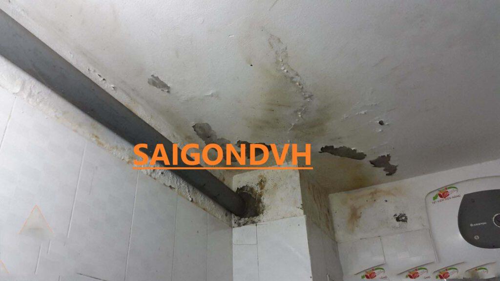 Nguyên Nhân gây ra thấm nước ảnh hưởng đến kết cấu ngôi nhà