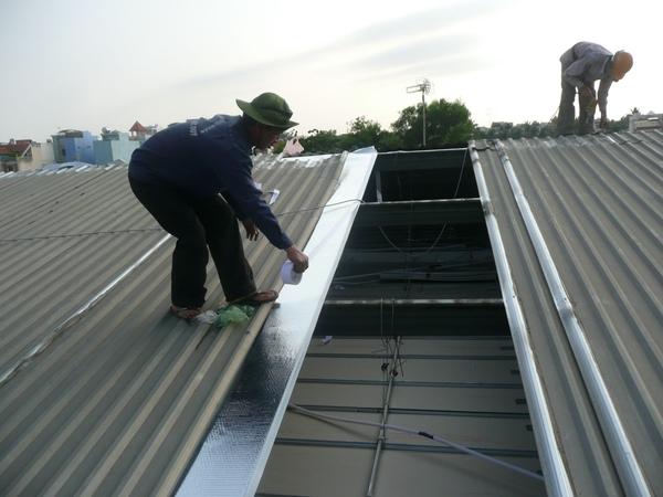 Thay Lợp mái tôn nhà xưởng tại quận 2
