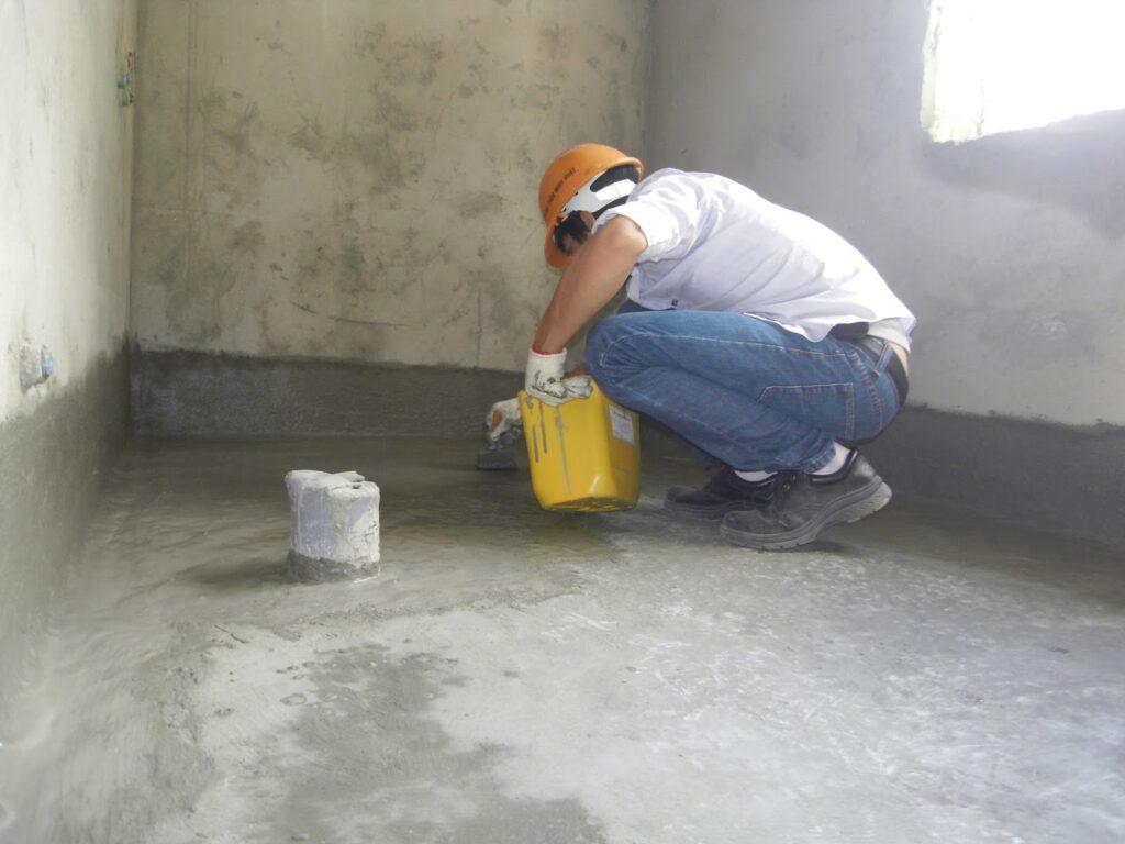 Thợ chống thấm nhà vệ sinh tại quận 3