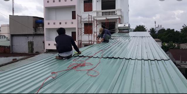 Thợ làm mái tôn tại quận 9