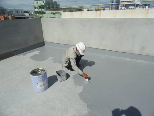 Thợ chống thấm sân thượng