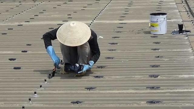Thựo chống dột mái tôn tại quận bình tân