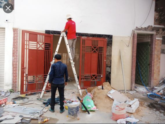 Nhận sửa chữa nhà trọn gói, nhận thi công từ những việc nhỏ nhất theo yêu cầu của quý khách hàng