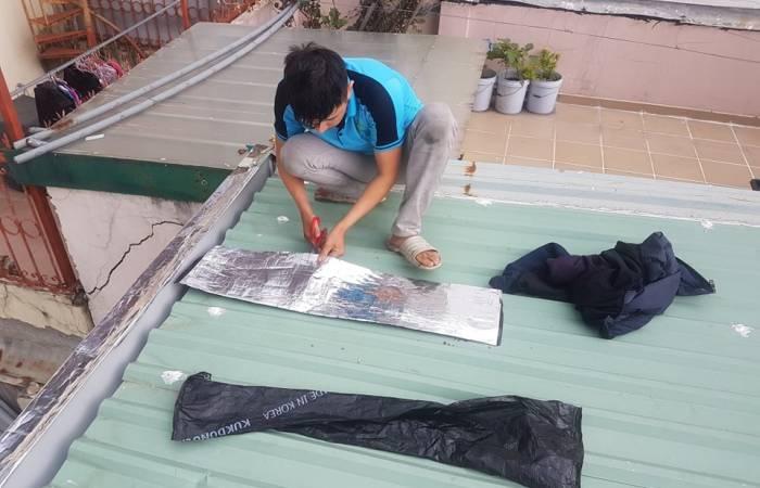 Thợ chống dột mái tôn tại Long Thành