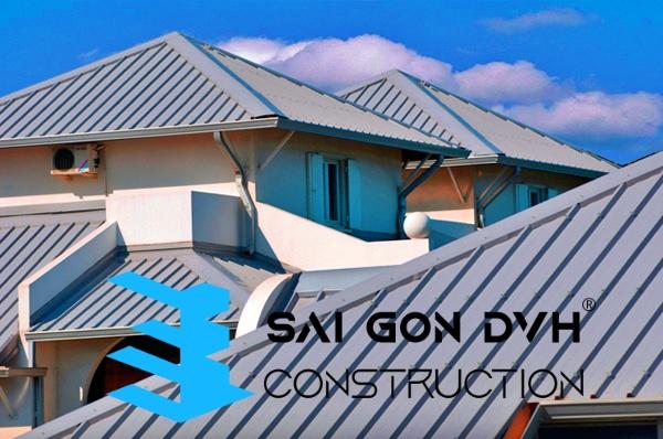 Chúng tôi nhận làm mái tôn nhà xưởng, nhà ở, chung cư...