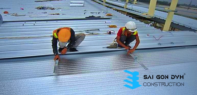 Thợ làm mái tôn tại TP Thuận An - Dịch vụ làm mái tôn chuyên nghiệp