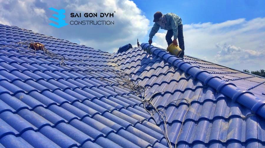 Thợ làm mái tôn tại TP Thủ Dầu Một - Dịch vụ giá rẻ, chuyên nghiệp