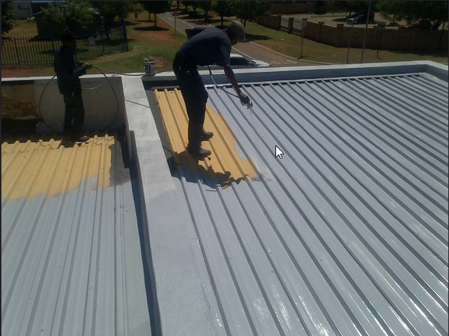 Chúng tôi nhận chống thấm mái tôn, chống nóng, chống ồn...