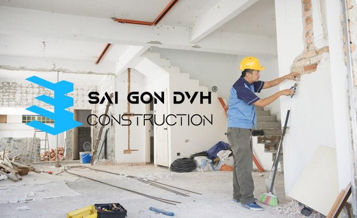 Dịch vụ sửa nhà Quận 2 của Sài Gòn DVH Construction