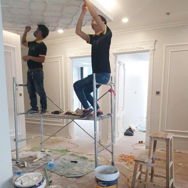 Công ty chúng tôi nhận trang trí phòng bếp, lắp đặt hệ thống điện cho nhà ở, biệt thự, chúng cư...