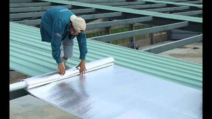 Công ty chúng tôi nhận làm mái tôn chống nóng, chống ồn...