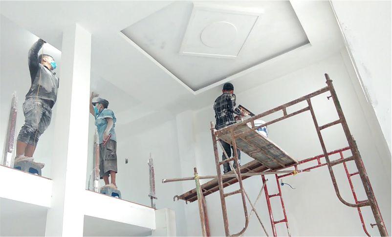 Đội ngũ sơn sửa nhà uy tín chất lượng