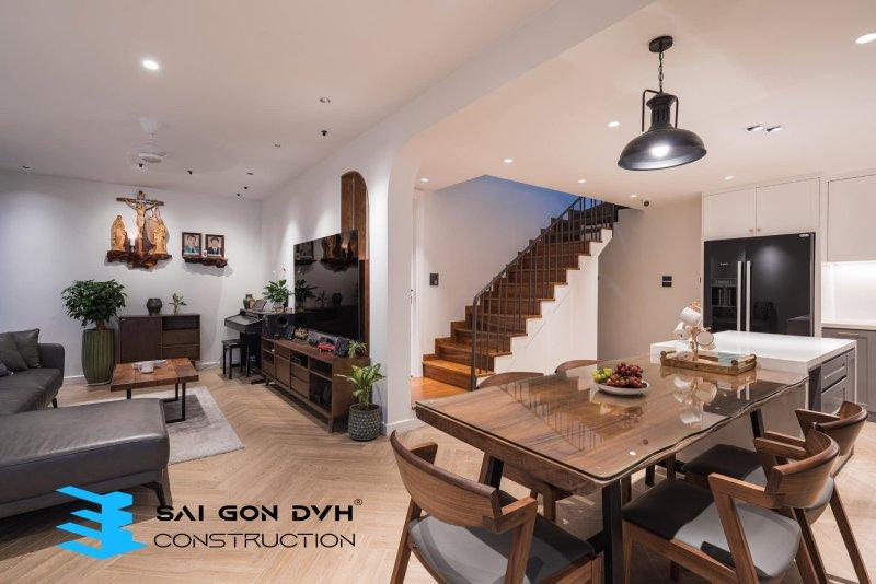 Hình ảnh sau khi sử dụng dịch vụ sửa nhà Quận 7 - Sài Gòn DVH