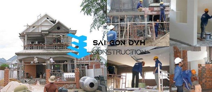 Dịch vụ sửa nhà Quận 12 - Sài Gòn DVH uy tín chất lượng