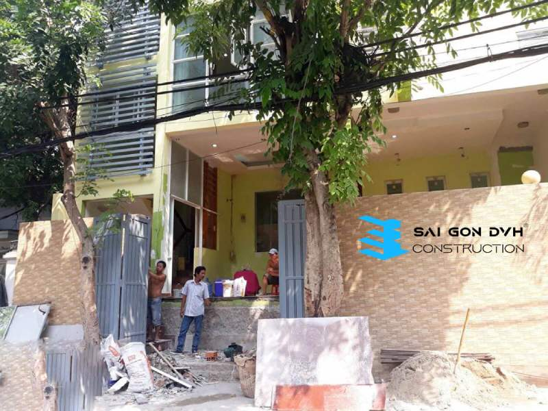 Khách hàng lựa chọn dịch vụ sửa nhà Quận Bình Thạnh của Sài Gòn DVH