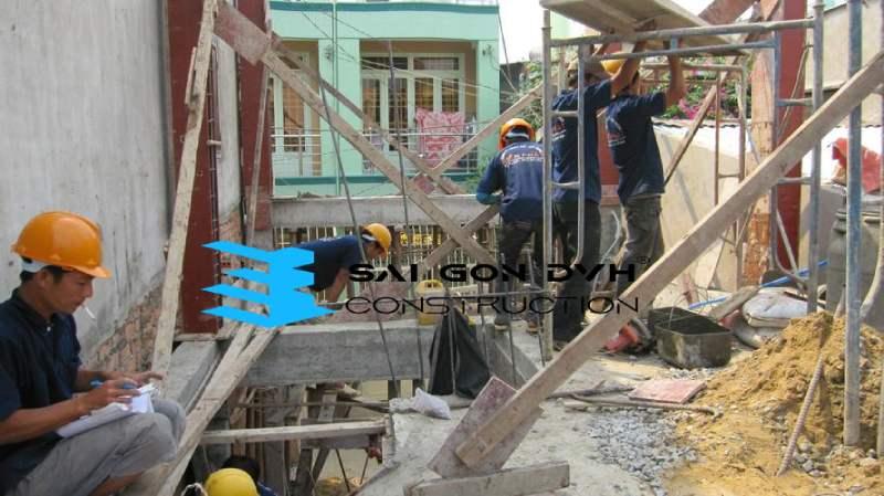 Đội ngũ sửa chữa nhà chuyên nghiệp, tay nghề cao