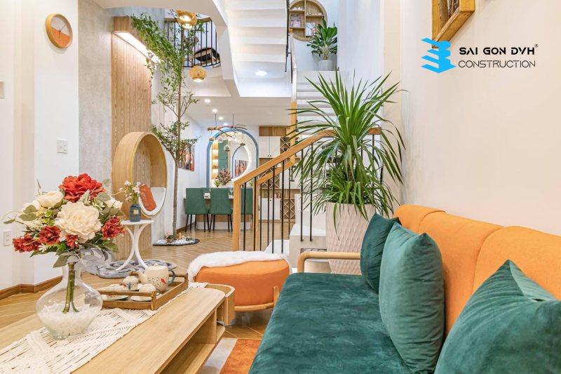 Thiết kế sang trọng, mang lại không gian tươi mới cho ngôi nhà
