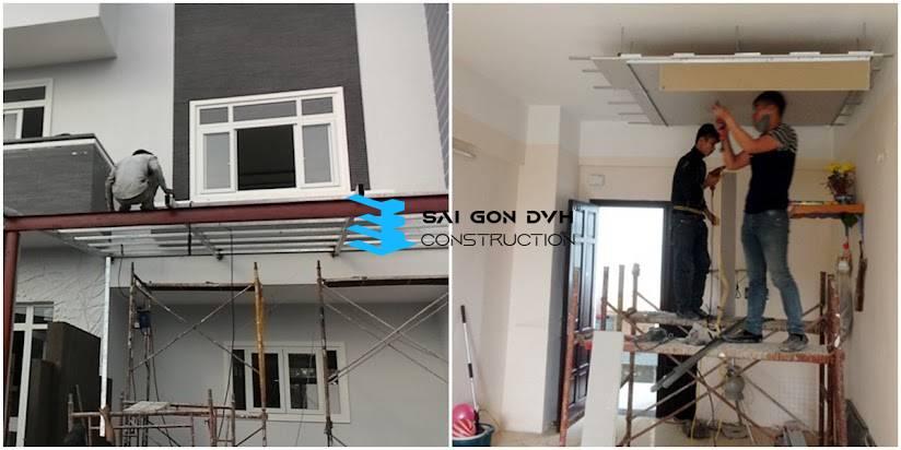 Dịch vụ sửa nhà Quận Tân Phú - Uy tín - Chất lượng