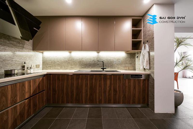 Không gian bếp tiện nghi rộng rãi hơn sau khi sửa chữa