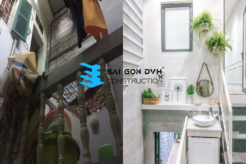 Sự khác biệt trước và sau khi sửa chữa cải tạo nhà cửa