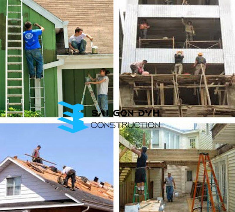 Đội ngũ sửa chữa nhà tại Hóc Môn chuyên nghiệp tay nghề cao
