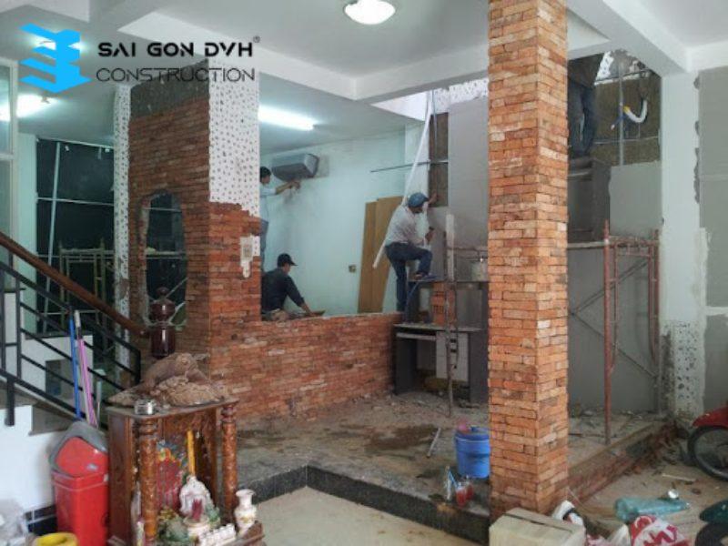 Sài Gòn DVH - Đơn vị sửa chữa nhà tại Hóc Môn uy tín chất lượng